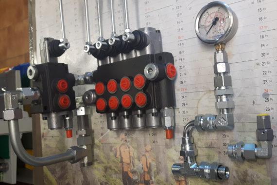 Návrh hydraulických okruhů